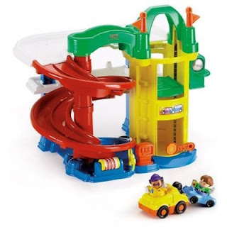 Toddler gift blogspot fisher price little people racin - Fisher price little people racin ramps garage ...
