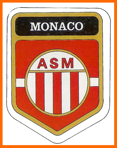 Old school panini l 39 as monaco promu et champion 1978 - Ecusson monaco ...