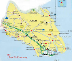 Location Map of Panti, Johor