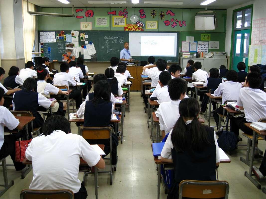 Asi son las escuelas japonesas