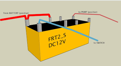 Relay+Jaycar1 gnarlydog news shop electric bilge pump in a kayak kayak wiring diagram at fashall.co