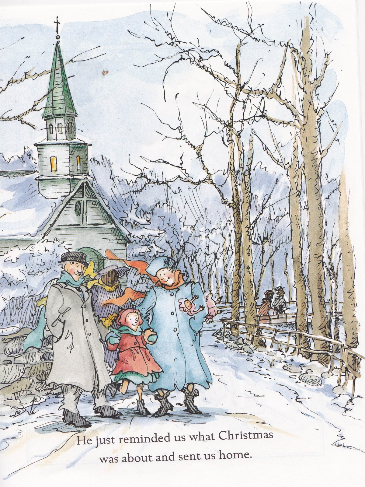 the marlowe bookshelf - Christmas In The Country