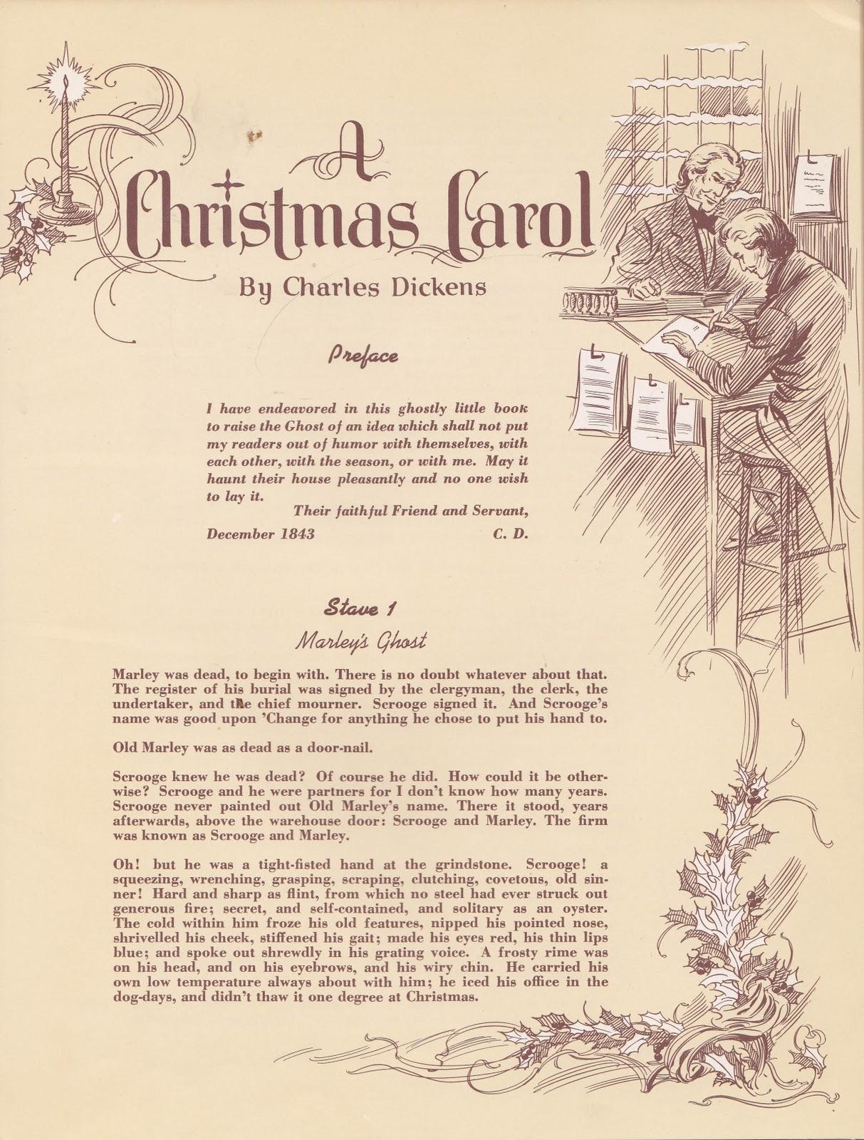 the marlowe bookshelf: Dicken's Christmas Carol