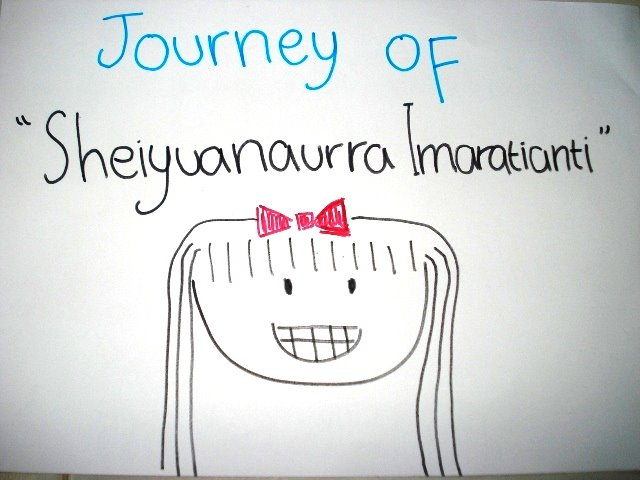 Journey of Sheiyuanaurra Imaratianti