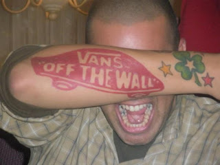 Off the wall serious vans tattoos for Off the wall tattoo