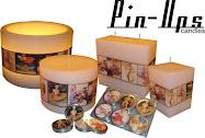 Pin Ups Vintage Candles