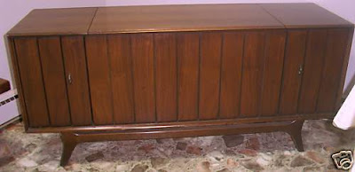 Console hi fi record radios zenith for Zenith sofa table
