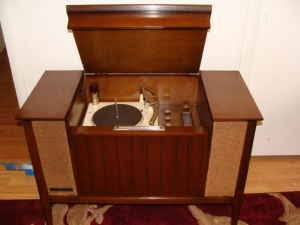 Console Hi Fi Record Radios General Electric Rc1196d