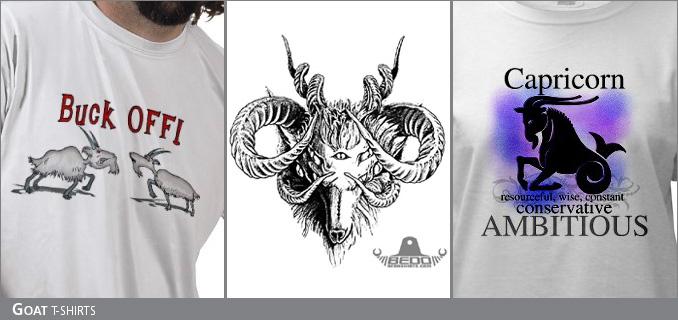 Goat t-shirts
