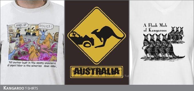 Kangaroo t-shirts
