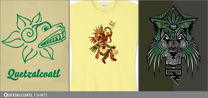 Quetzalcoatl t-shirts