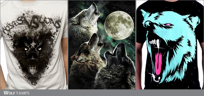 Wolf t-shirts