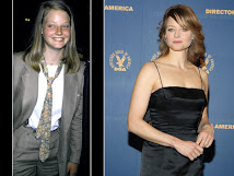 Jodie Foster... antes e depois
