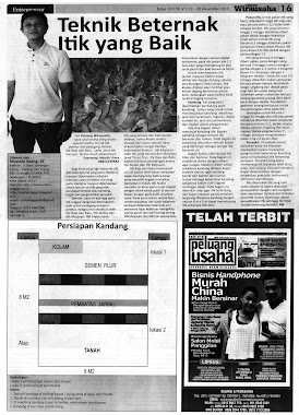Liputan Tabloid Wirausaha
