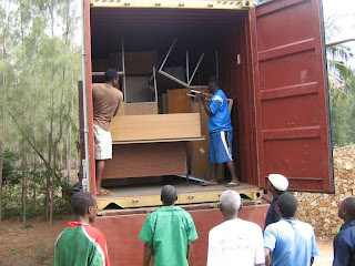 Our Third Container Finally Arrives