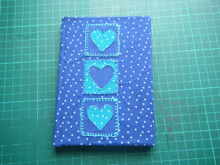 sewing patterns: fabric covered notebook tutorial
