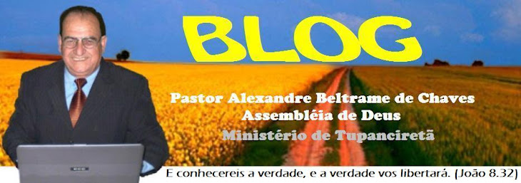 Blog do Pastor Alexandre