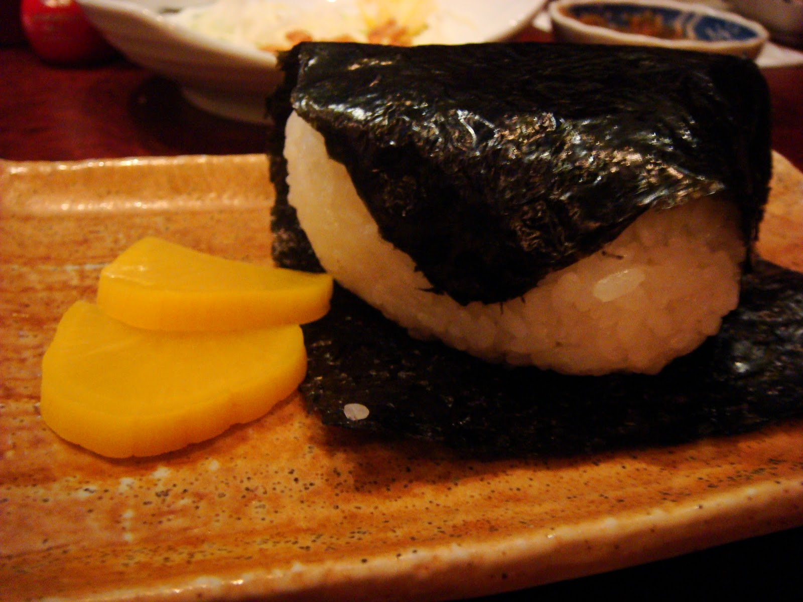 A food dilettante 39 s musings dallas sushi robata 2nd visit for Fish ball with roe