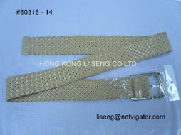 Waxed Rope Belt Manufacturer And Supplier - Hong Kong Li Seng Co Ltd