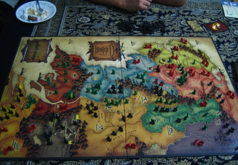 Risk Board Gamelord Of The Rings