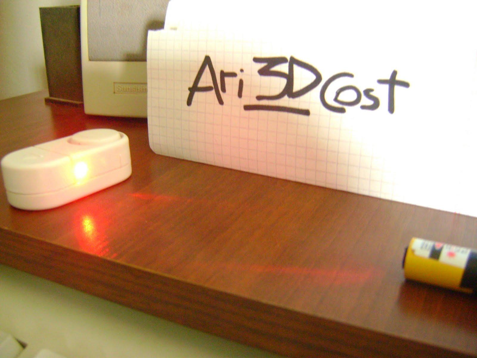 Una alarma láser muy sencilla