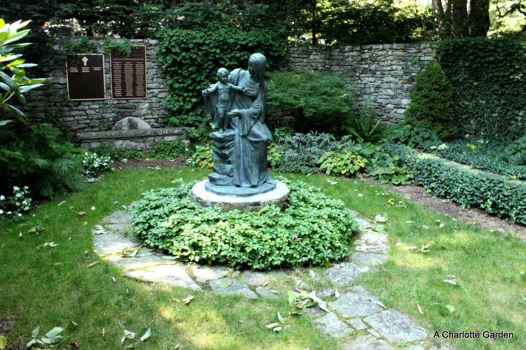 A Charlotte Garden Cool Breezes And Flowers In Blowing