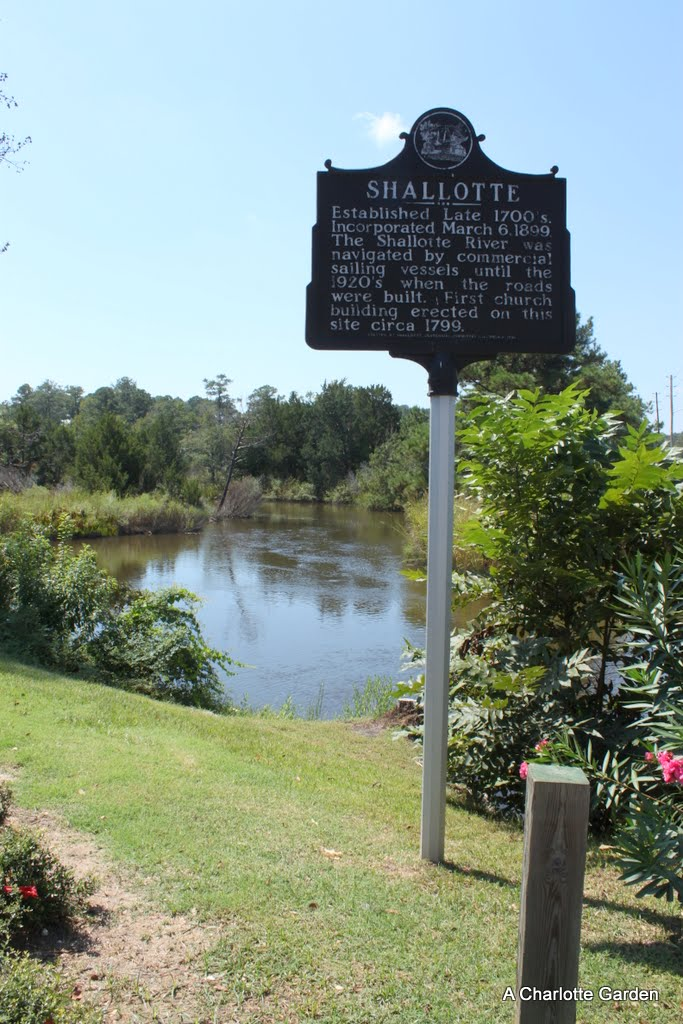 for the beach goers who only drive to shallotte to shop at wal mart during their vacation this historical marker goes unnoticed as they turn onto hwy 17