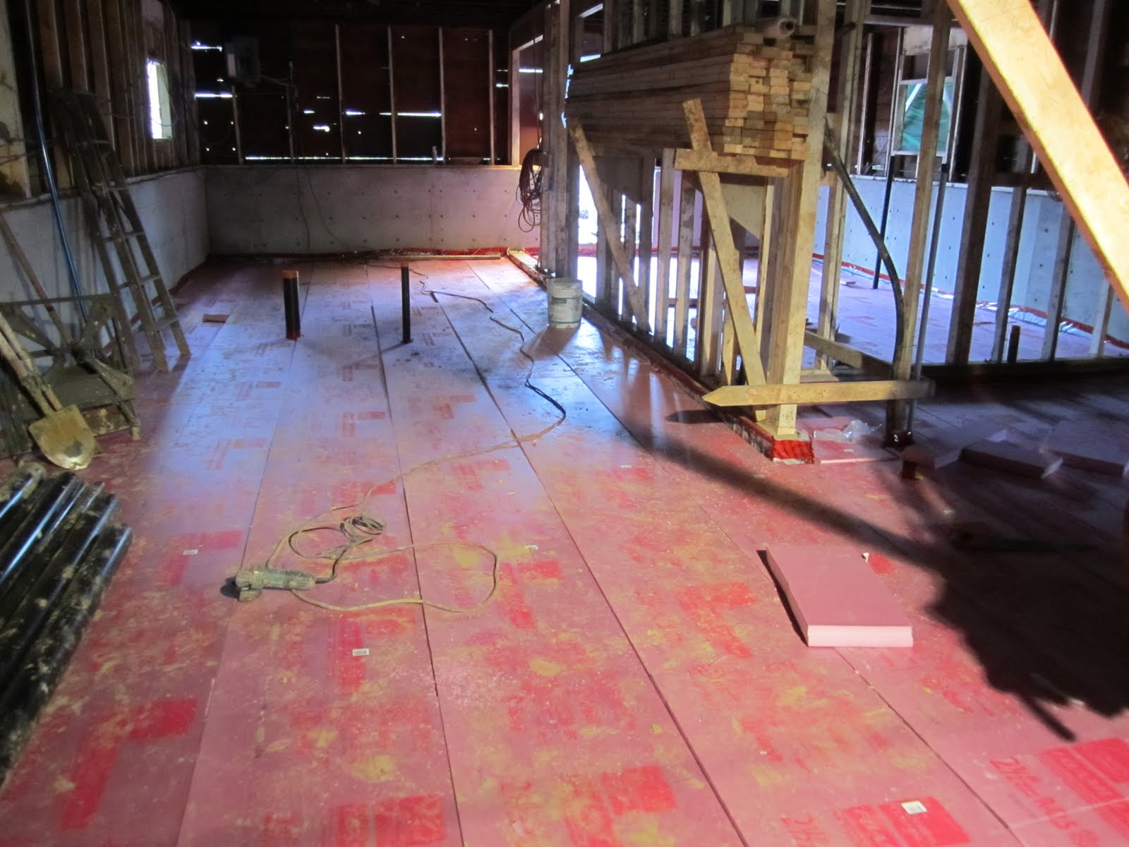 ronse massey developments basement floor insulation and vapor barrier