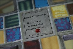 Who can find a noble wife?  Prov. 31:10