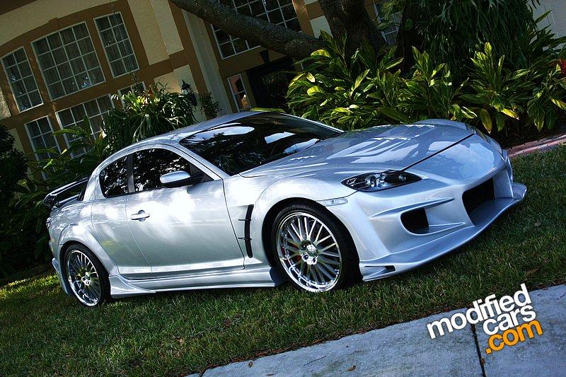The Silver Mazda