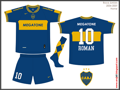 Todas las Camisetas de boca juniors