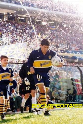 Camisetas de Boca Juniors a lo largo de la hist. 1905/2013
