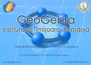 GeoGebra Institute of Timisoara, Romania