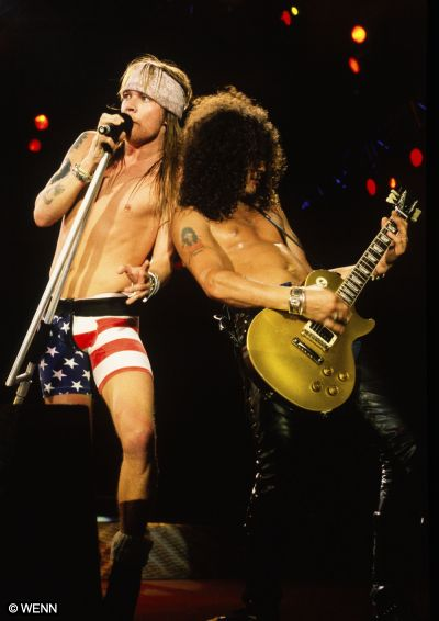 Fotos de Axl Rose y Slash juntos