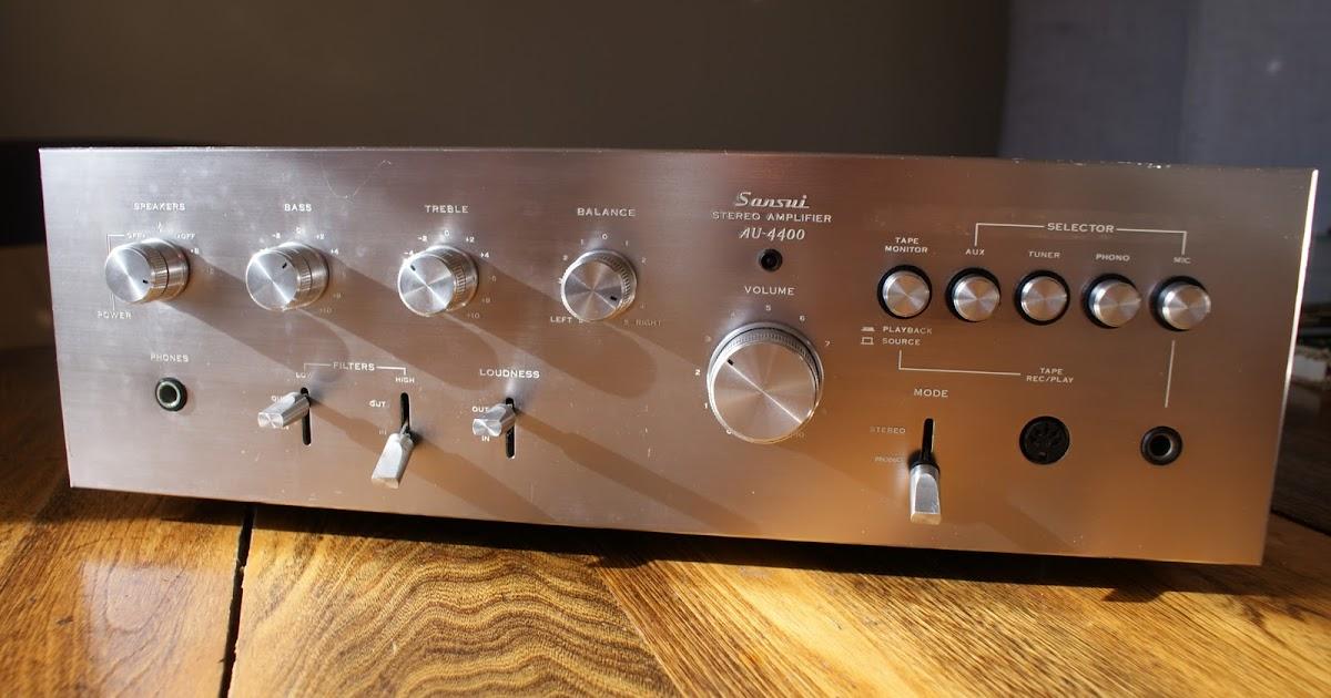 Vintage Sound Sansui Au 4400