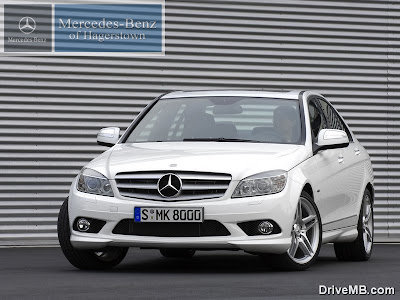 Mercedes 2008 C230 Sport Sedan with the AMG