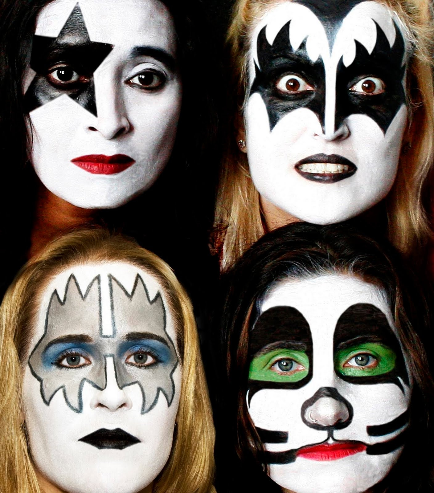 Kiss Band Members With Makeup