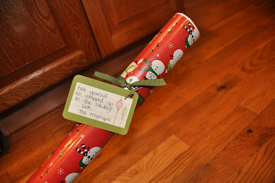 wrapping paper neighbor gift