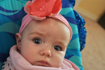 recycling ideas: easy stretchy baby headband tutorial