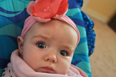 recycling ideas: easy stretchy baby headband tutorial