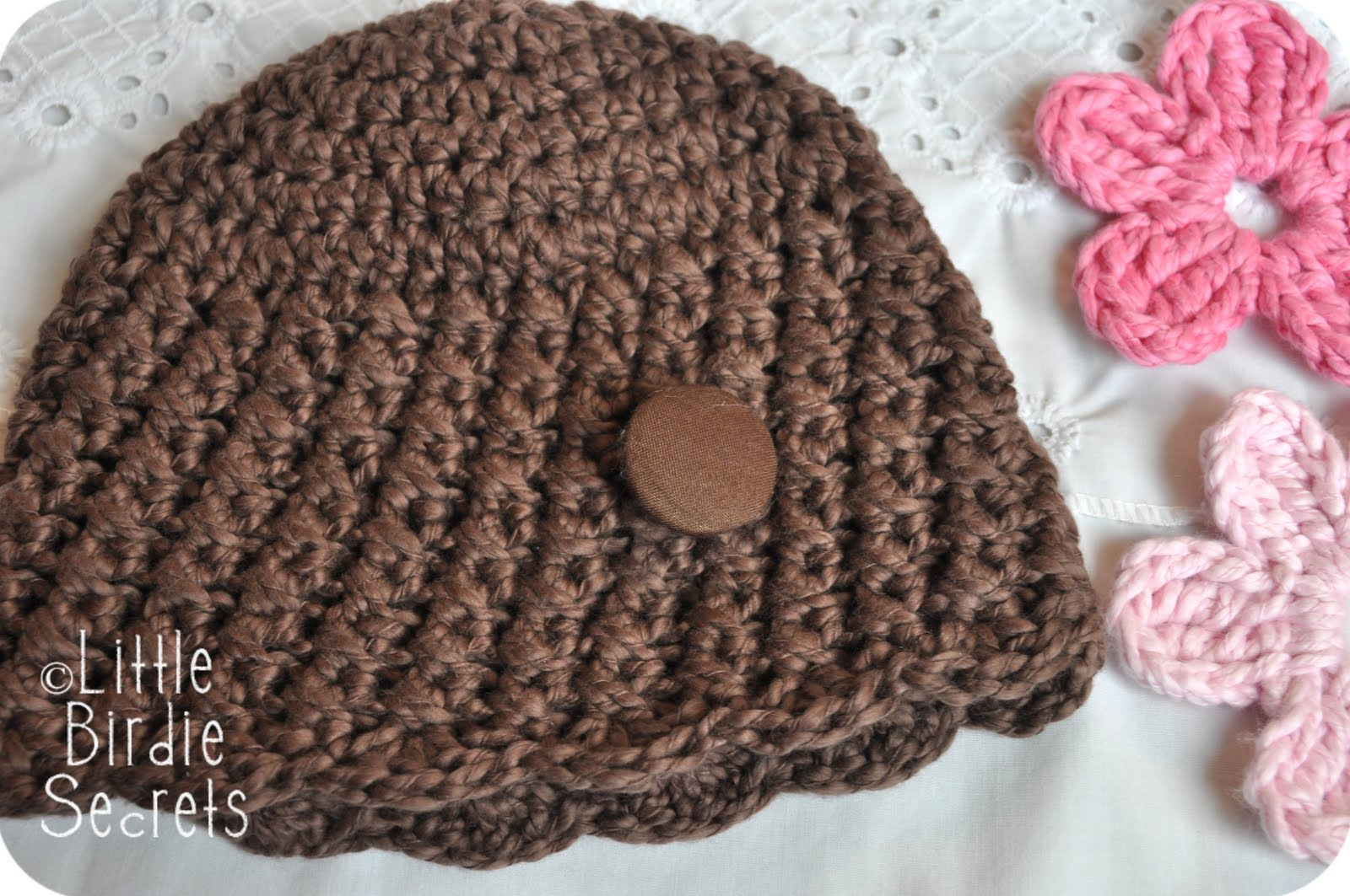 Crochet Baby Beanie Pattern Easy : new baby hat and bootie patterns in the shop {plus a free ...