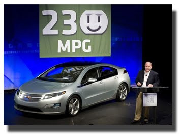 GM: Chevy Volt Gets 230 MPG