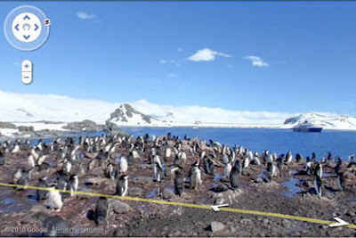 Google Street View of Antartica