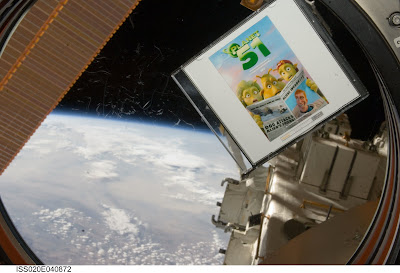 planet 51 en la estacion internacional