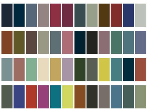 Myfashionpointofview colores primavera verano 2010 for Gama de grises para paredes