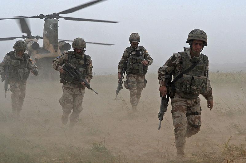 OP CASTILLO DE NAIPES 19 MAYO 8€ `PARTIDA CQB GEDAT TALAVERA Afganistan_Paracaidistas_espanoles_BRIPAC_in_Afghanistan_dominiopublicoUS