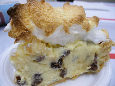 Raisin Cream Pie