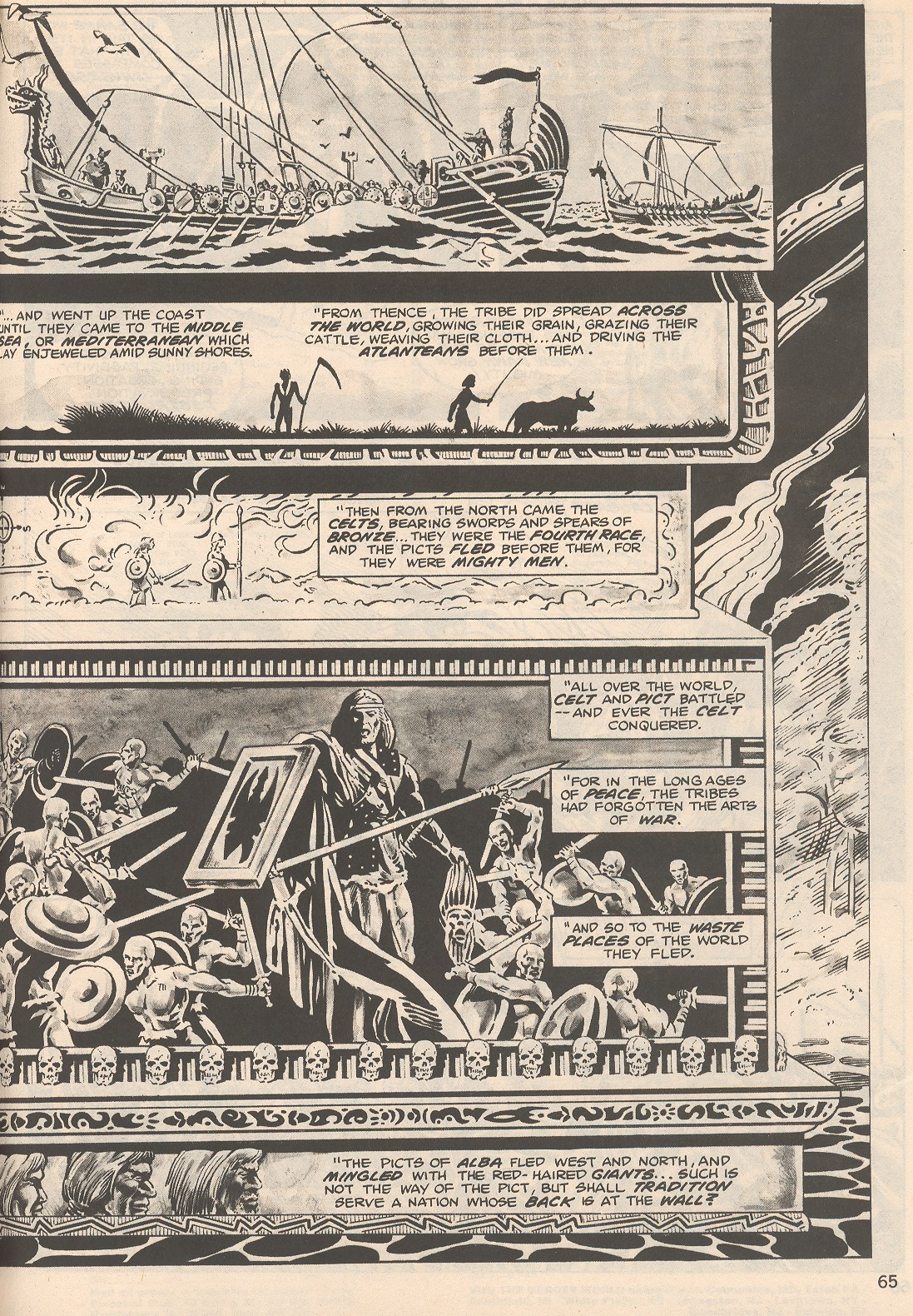 The Savage Sword Of Conan Issue #104 #105 - English 65