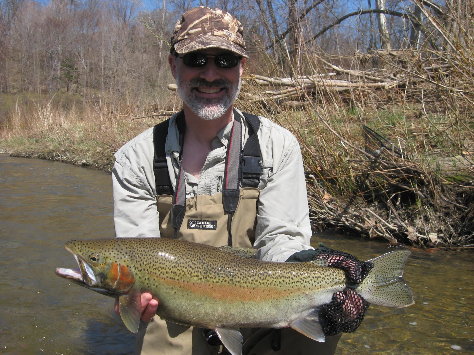 Pa ohio steelhead guides fly fishing reports fly tying for Ohio fishing reports