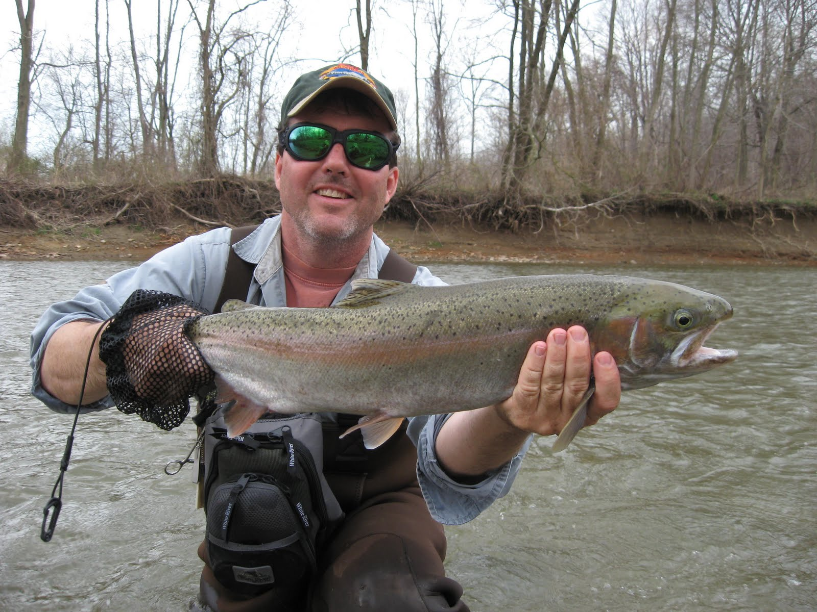 pa ohio steelhead guides fly fishing reports fly tying